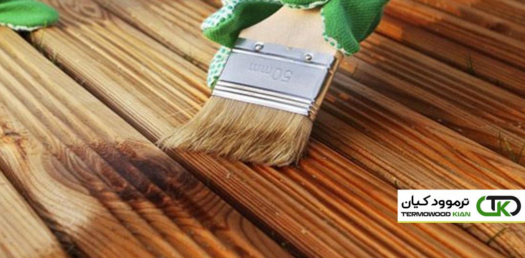 در مورد رنگ کردن چوب ترموود بیشتر بدانید