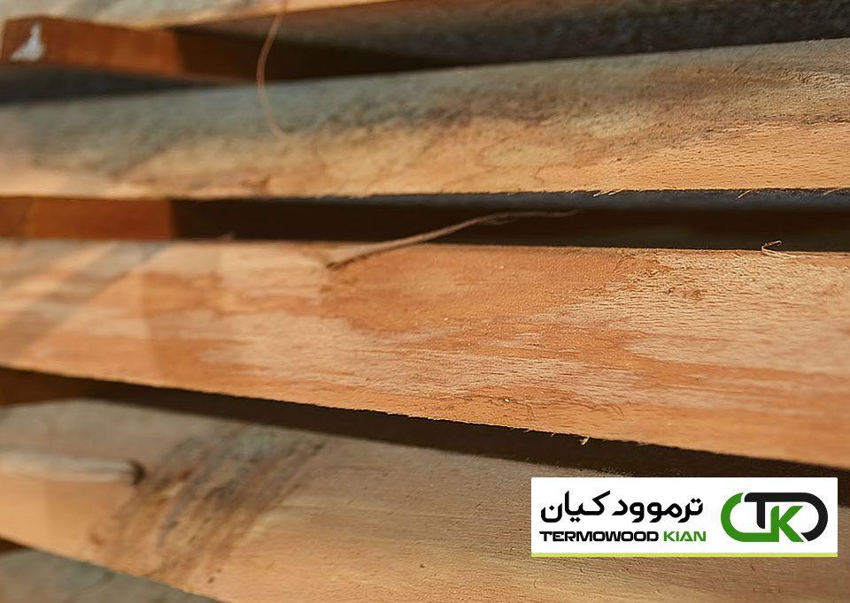 انواع چوب ترموود - ترمو ایرانی